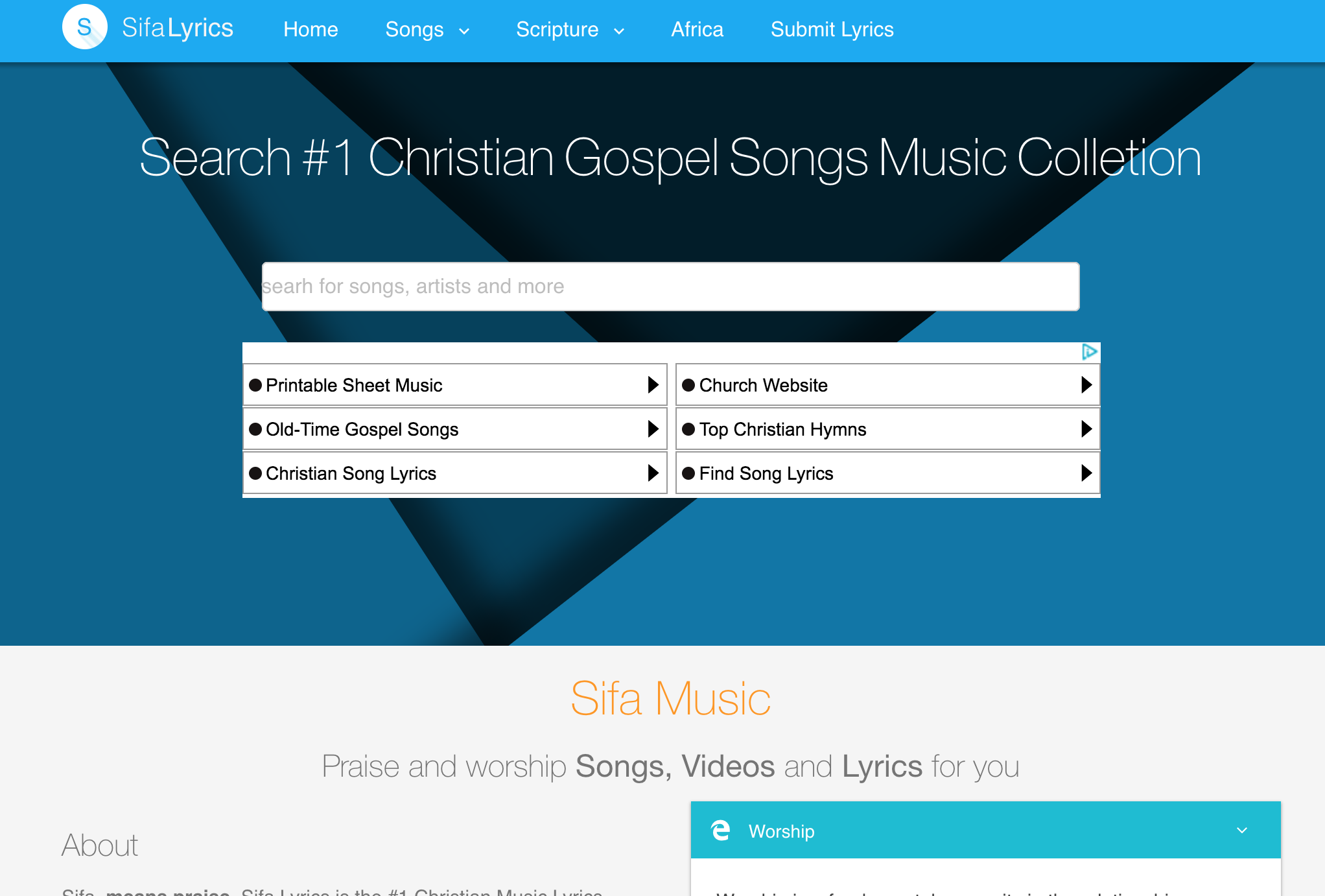 Christian Songs Lyrics